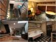 Une cuisine - salle à manger, une chambre et une salle de bains dans le sous-sol