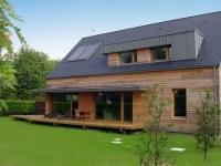 Une maison neuve sur le standard passif
