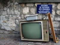 Vieilles TV : au recyclage !