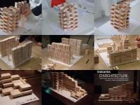 """2.000 cagettes pour des """"instants d'architectures"""""""