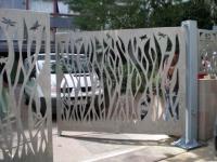 Mon portail ? Une œuvre d'art !