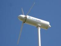 D'une éolienne coule de l'eau potable...