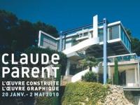 Claude Parent, un regard oblique sur l'architecture