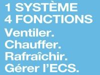 Systèmes de températion® domestique T.Zen d'Aldes : le confort par l'air tout au long de l'année