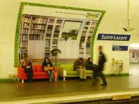IKEA s'invite dans le métro parisien