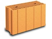 Innovation, une brique en terre cuite de 20 cm avec R = 1,32 m2.K/W