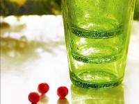 Le vert est dans le verre
