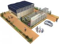 Un habitat modulaire à carapace solaire