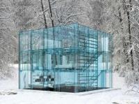 Une maison tout en verre