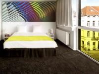 Un hôtel haut en couleurs