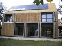 Une seconde peau de bambou pour une maison passive
