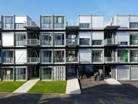 A'Docks : des conteneurs  reconvertis en logements design