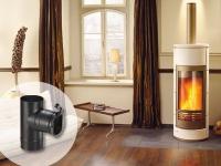 POUJOULAT innove en proposant le premier régulateur de tirage de cheminée REGUL'TECH