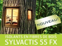 Sylvactis 55 FX d'Actis : l'isolation en fibres de bois Haute Performance