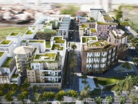 Un nouvel éco-quartier sort de terre à Nanterre