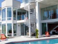 Maison d'architecte sur la côte californienne