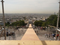 Le Mega Jump de la butte Montmartre est prêt pour le grand saut
