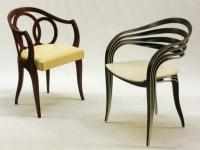 Un fauteuil Art déco revisité avec un regard contemporain