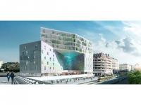 Un bâtiment perforé ornera un nouveau quartier de Montpellier