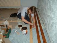 Installer des plinthes