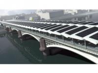 Un pont solaire pour le métro londonien