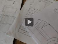 Mobilier en carton (2/2) : Créer un meuble en carton (vidéo)