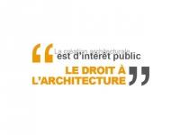 Un manifeste valorisant le droit à l'architecture pour tous !