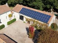 La première installation photovoltaïque de 9 kWc chez un particulier