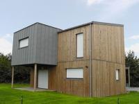 Le Chêne Hervé : six maisons à caractère social à très haute performance énergétique