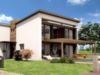 Quatorze maisons neuves alliant basse consommation et électricité