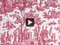 La Toile de Jouy, un tissu dans l'histoire (vidéo) 1/2