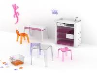 Une surprenante collection de mobilier pour enfants en plexiglas