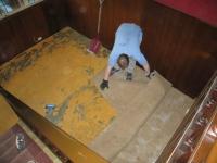 un sol vinyle imitation sisal pour ma chambre maisonapart. Black Bedroom Furniture Sets. Home Design Ideas