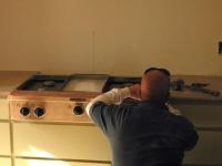 Poser des plaques de cuisson encastrables