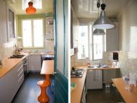 Une cuisine bleue au style industriel chic maisonapart for Cuisine amenagee bleue