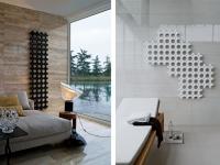 Un radiateur entre l'oeuvre d'art et l'objet design