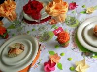 Des idées déco pour une table estivale