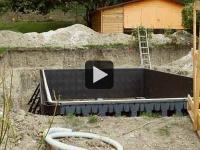 Projet piscine : les étapes du chantier (vidéo 2/2)