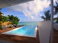 Une maison de rêve ouverte sur un lagon
