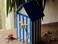Création maison : une boîte à clefs esprit bord de mer