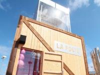 Une cabane trampoline pour voir la mer autrement