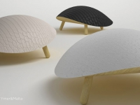 Le cuir vu par cinq designers