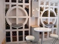 Une cave à vin sur mesure en béton cellulaire