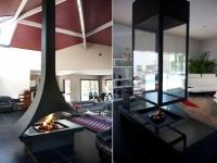 Deux cheminées au service de l'architecture