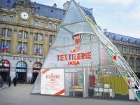 Un atelier de confection textile géant et gratuit au coeur de Paris