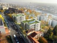 L'ancien hôpital Debrousse  de Lyon transformé en logements
