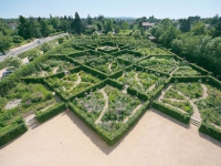 Le jardin labyrinthe d'un château élu jardin de l'année 2013