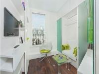 Un mini-appartement de 6 m2 plein de fraîcheur