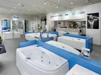 200 m² dédiés à la salle de bains en plein coeur de Paris