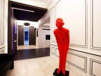 Un appartement excentrique entre bande dessinée et galerie d'art